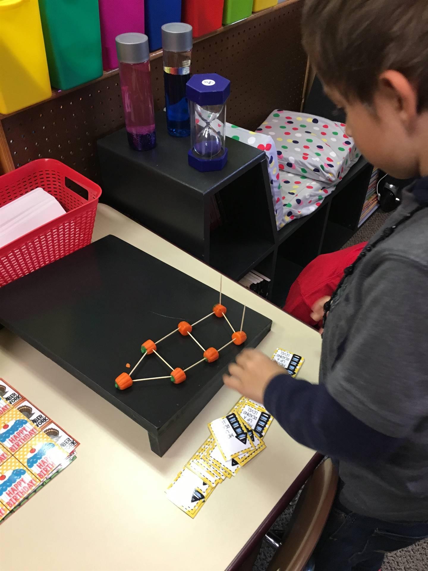 Building fun in 1st Grade!