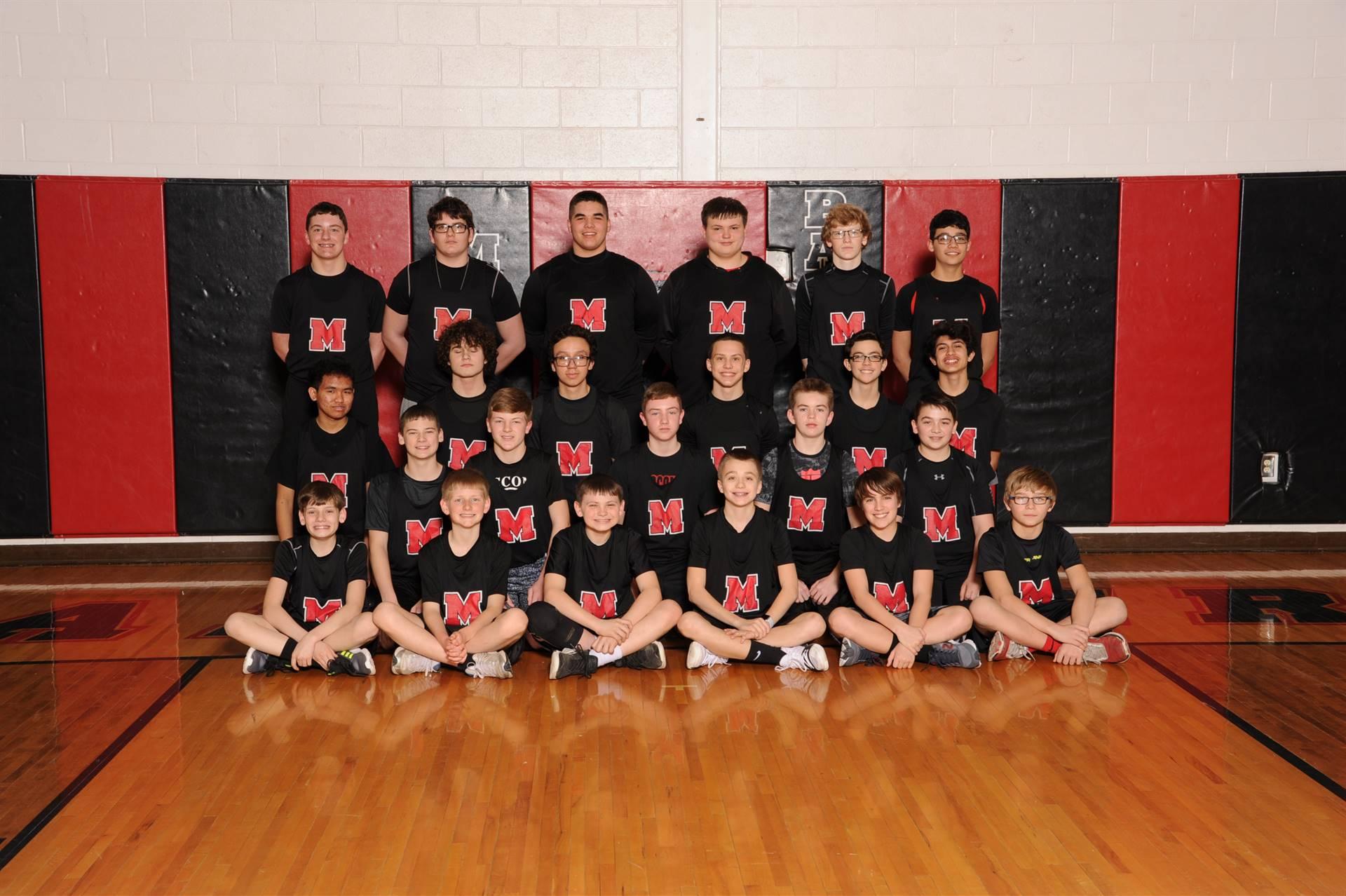 Junior High Boys Track Team