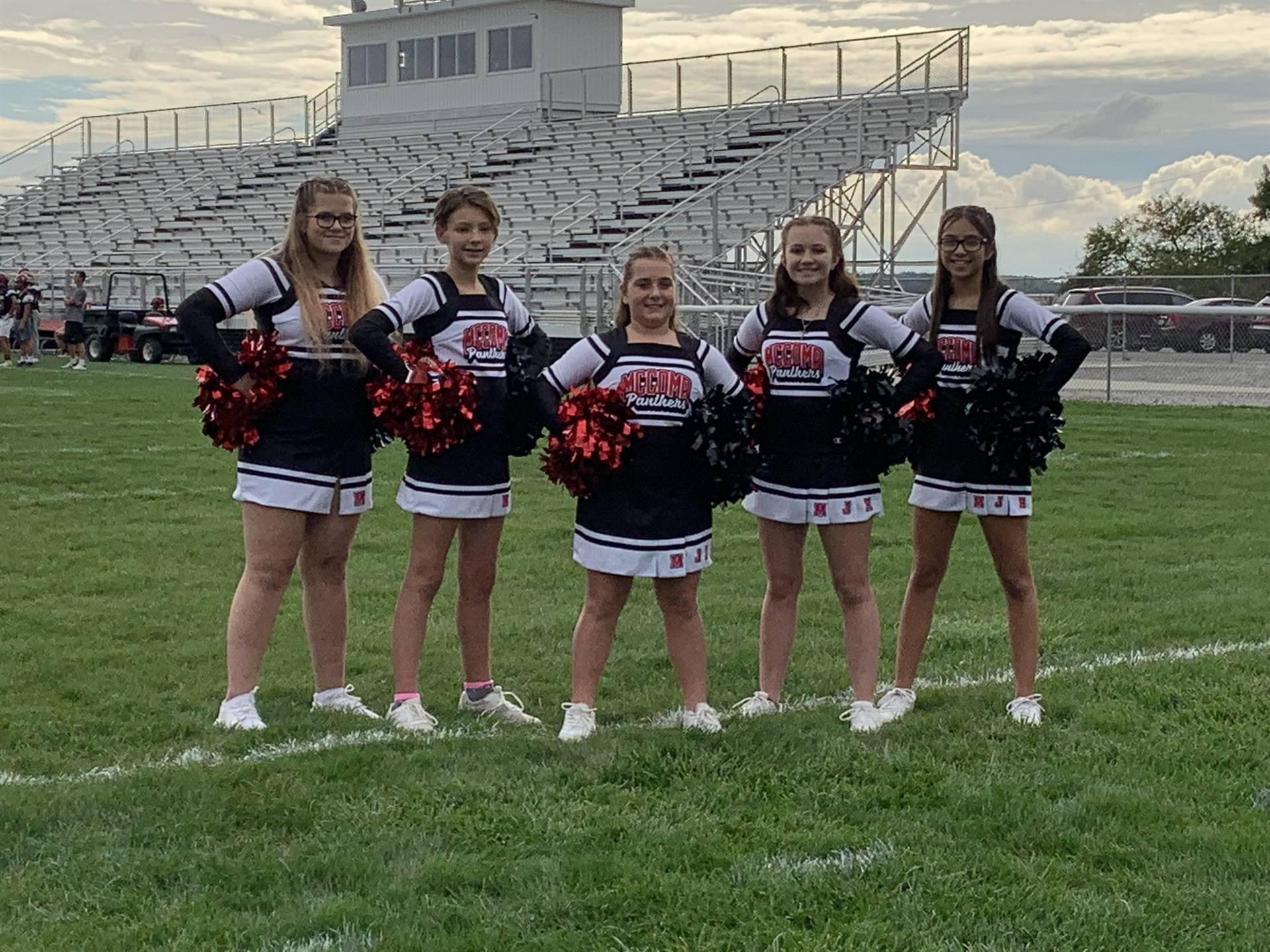 Junior High Cheerleading